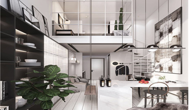 Business mansions or studios near subway station for sale in Shanghai, China