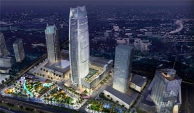 Dong Guan Landmark - Taiwan Business Office Building For Sale
