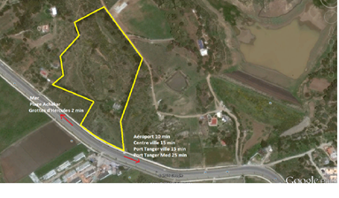Plot available for Hotel in Tangier, Cap Spartel, Morocco