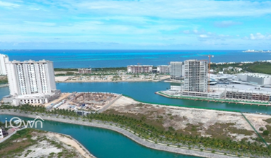 Land Ready for development in Puerto Cancun, Mexico