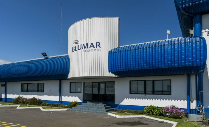 Chile's Blumar, Multiexport Foods agree to jointly construct $40 mln plant