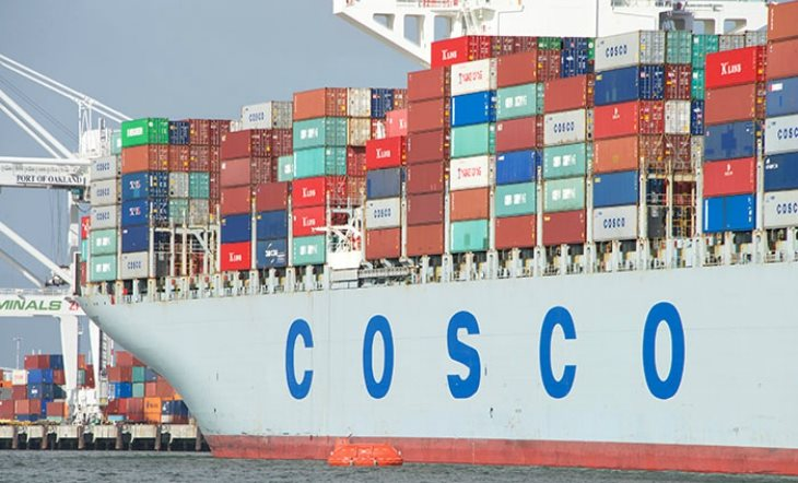 China's Cosco plans to sell its container terminal in California for $1 bln